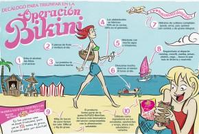 Operación bikini a través de la dieta: consejos básicos